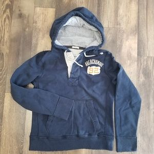 Abercrombie & Fitch men's distressed sweatshirt